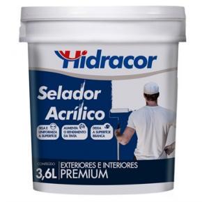 Selador acrílico Hidracor 3,6 litros
