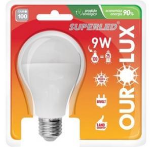 Lâmpada de LED 9W Ourolux