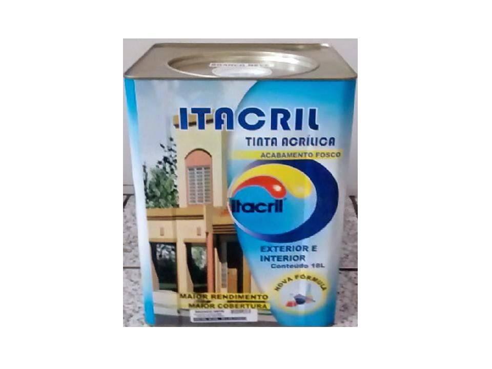 Tinta latex Itacril 16 litros