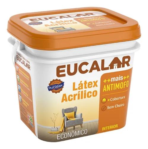 Tinta Latex Eucalar 3,6 litros