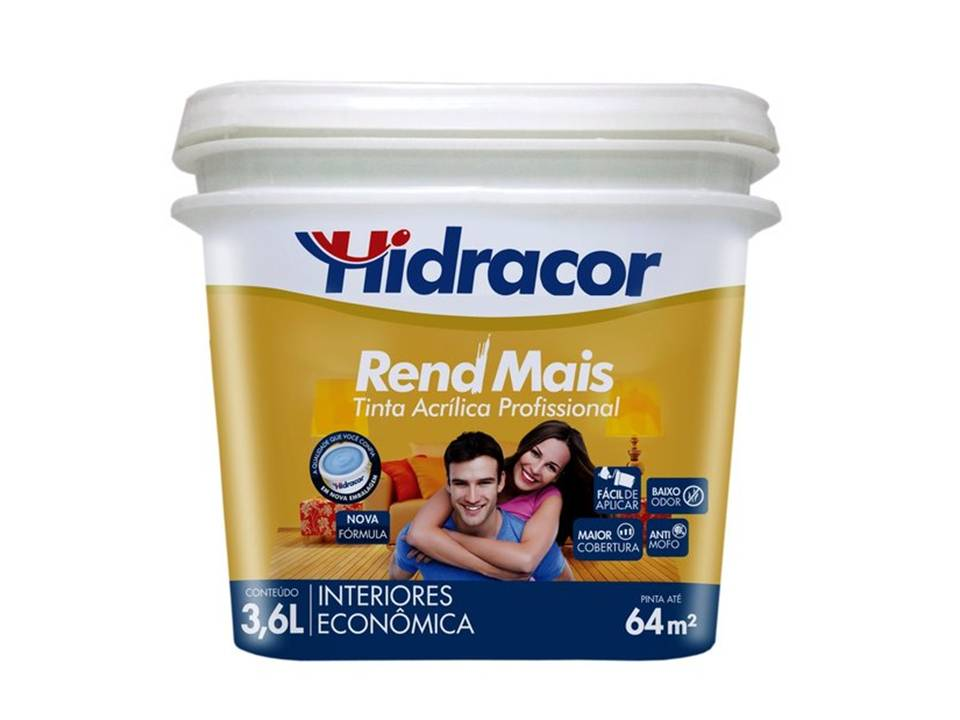 Tinta Rend Mais Branco 3,6L