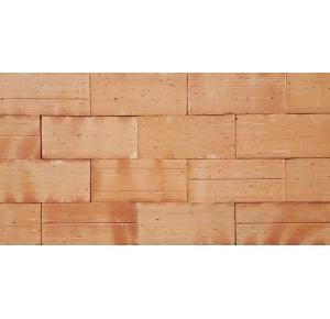 Revestimento tijolo a vista plaqueta texturizado 10x20x2,5cm
