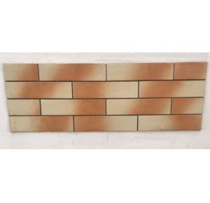 Revestimento tijolo a vista plaquetas Terracota Marfim 256 x 65
