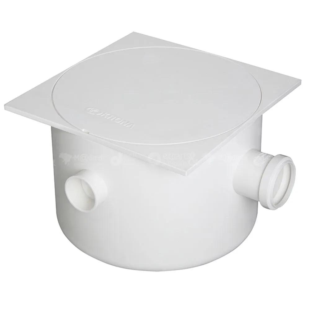 Caixa de gordura PVC saída 250x172x50