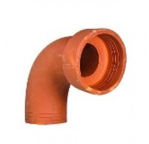 Curva de barro diâmetro (cerâmica) 100mm
