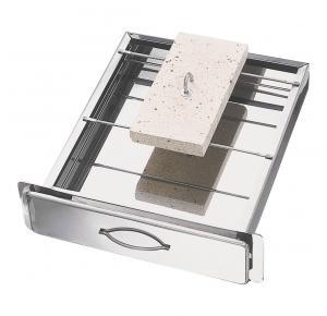 Gaveta Inox Grande para churrasqueira (Gira Grill)