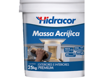Massa acrílica Hidracor 25kg