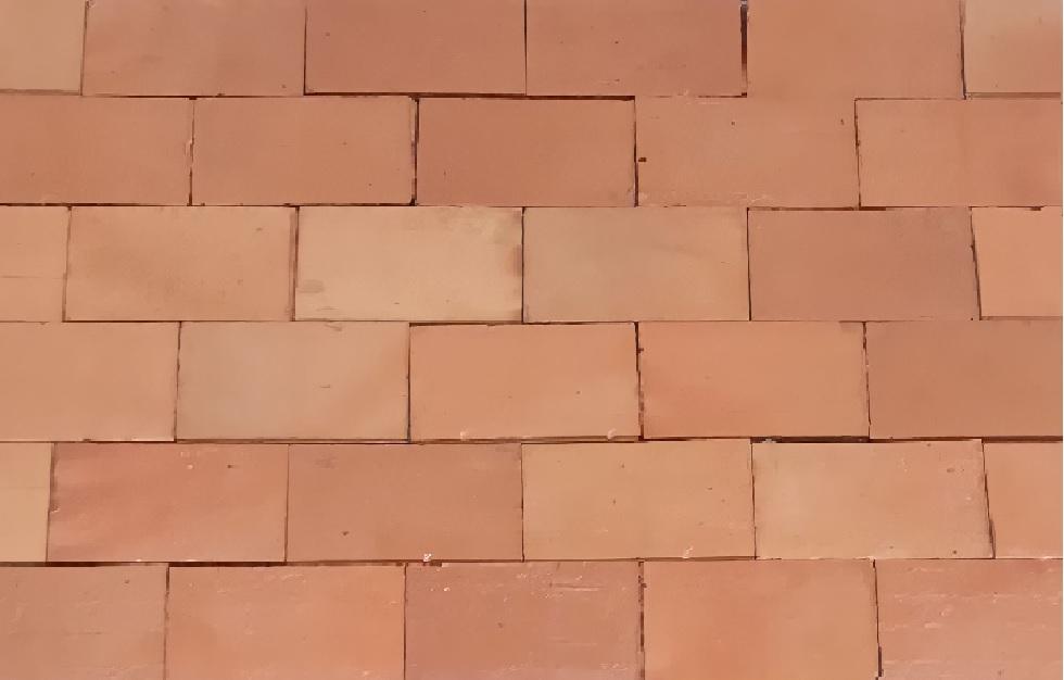 Revestimento tijolo à vista plaquetas  10x20 Vermelho