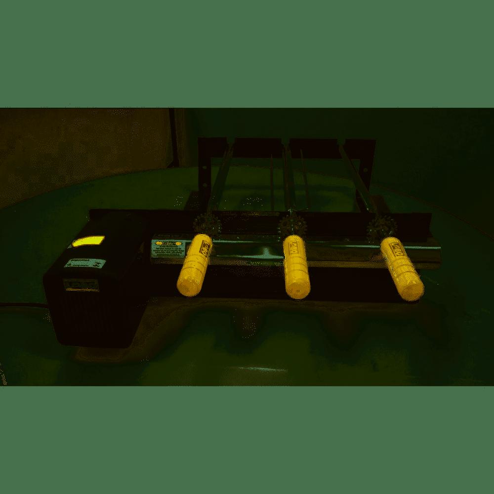 Kit Giratório 3 Espetos 3/42 Pre Aço Carbono