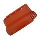 Telha americana vermelha sem resina - Cerâmica Salinas Top