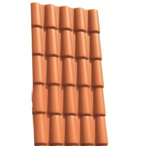 Telha PVC colonial da Precon 2,30 x 0,86m